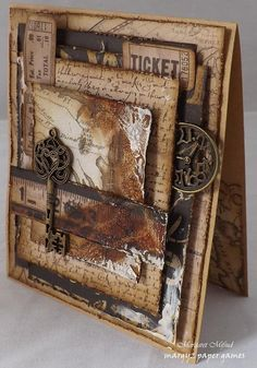 Margaret Mifsud in Adelaide, South Australia, Australia. game, From Margaret Mifsud in Adelaide South Australia Australia Margyz Paper Games margyspapergames Mini Album Scrapbook, Scrapbook Cards, Scrapbook Journal, Steampunk Cards, Paper Art, Paper Crafts, Karten Diy, Paper Games, Shabby Chic Cards