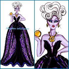 Disney diva villainess Ursula by Hayden williams