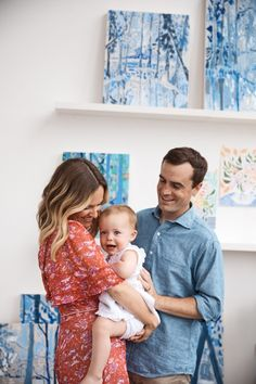 Moms Who Inspire: Artist Lulie Wallace - Anthropologie Blog