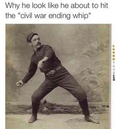 Civil war ending whip