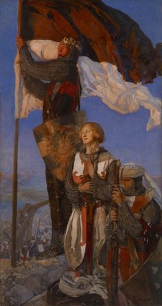 Crusades Sighting Jerusalem - Edwin Austin Abbey