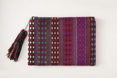 Eco Friendly Ethical Bohemian Woven Fair Trade Clutch Leotie Lovely