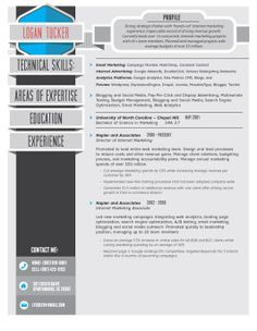 High Quality Custom Resume/CV Templates | Career, Resume examples ...