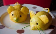 sculpture-fruit-legume-souris-citron-deco-assiette sculpture sur fruit