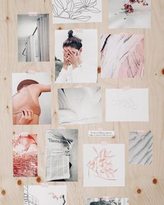 Monthly Inspiration Boards from Myriam Rochefort