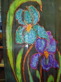 Silk Irises