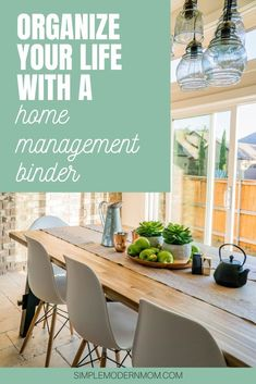 Wondering how to make a home management binder? Check out my post and the free printables I used to set up my home management system Home Management Binder, Time Management, Binder Dividers, Meal Plan Grocery List, Planner Organization, College Organization, Organizing, Thing 1, Dating Coach