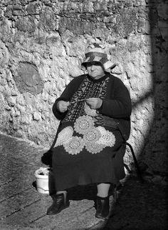 nupereller fra en gammel kvinne