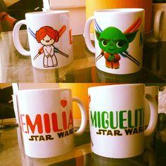 Todos pueden tener un diseño de otra #galaxia !... deja que ellos elijan en que tomaran su #desayuno  #starwars