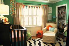 Project Nursery - Mac's Colorful Nursery