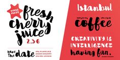 In love with Flow Handscript - Webfont & Desktop font « MyFonts