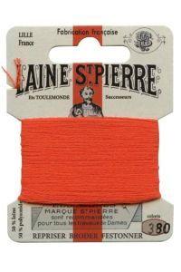 Carte Laine Saint-Pierre pour broder / repriser n° 380 Tango