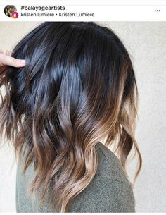 Find here so many best shades of balayage ombre hair colors and highlights for various hairstyles and cuts to wear nowadays. If you are going to attend any special event then we suggest you to see here for awesome balayage and ombre shades for Hair Color Auburn, Ombre Hair Color, Hair Color Balayage, Ombre Highlights, Brunette Balayage Hair Short, Balayage Lob, Auburn Balayage, Dark Brunette, Brunette Hair