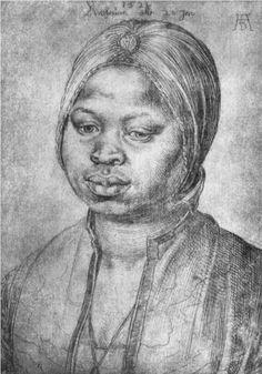 Albrecht Dürer, Portrait of an African Woman Katherina, 1521