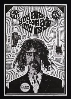 Image result for frank zappa poster