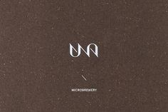 UNA - microbrewery bar branding by...