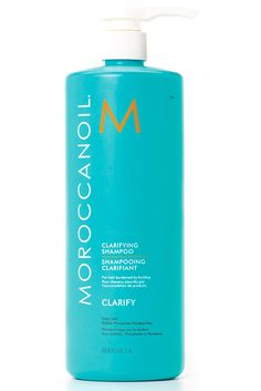 This smoothing formula uses Moroccan argan oil to give hair a super sleek look. Moroccanoil Clarifying Shampoo, $25.20; moroccanoil.com   - MarieClaire.com