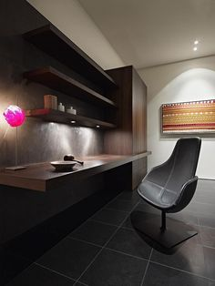 ♂ Masculine and elegant simple working space - Contemporary Verdant Avenue House