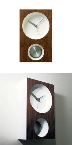 Modern Pendulum Clock | dotandbo.com #DotandBoDream