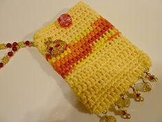 Hand #Crocheted #Cell #Phone #Case #sunshine #handmade #thecraftstar $19.50