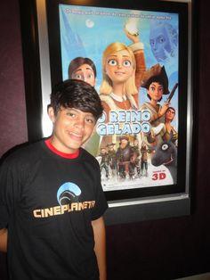 Gabriel Felipe repórter teen do Cineplaneta