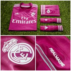 REVEALED: The bold, new 14/15 away jersey for Real Madrid! #Madrid #Soccer #Jersey