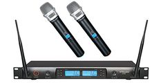 Gtd Audio G-622H 200 Channel Uhf Professional Wireless Microphone Mic System, 2015 Amazon Top Rated Wireless Microphones #MusicalInstruments