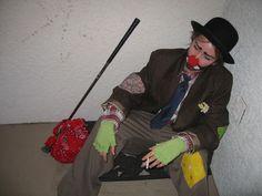 How to Make a Hobo Clown Costume