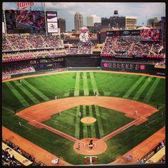 Target Field, MN #Mntwins #twins #baseball