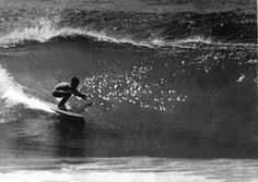 Ralph Callaghan on his Scott Dillon 9'6″ at North Steyne, February 1965, unknown photographer, courtesy John Smythe  According to John Smythe, this is Ralph Callaghan on his Scott Dillon 9'6″ at North Steyne, taken the same day as the group shot of the Manly Pacific Boardriders in front of the surf club. The image was used in Surfing World.