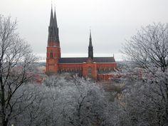 ** Cathedral, Uppsala, Sweden.