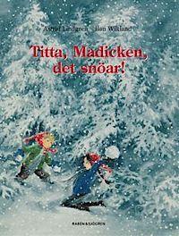 Titta Madicken, det snöar! (kartonnage)