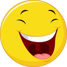Émoticône souriant avec rire visage sur fond isolé — Illustration Emoticon Feliz, Smileys, Funny Emoticons, Kiss Emoji, Smiley Emoji, Bisous Gif, Caricature, Happy Cartoon, Silly Faces