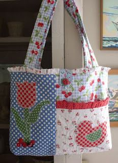 A bag I made for an online auction a few years back.