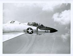 /via Kemon01 #flickr #plane #1950s #USN #F3H #Demon