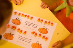 Halloween preschool ideas