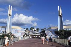 Tomorrowland at Magic Kingdom Park: Then and Now… « Disney Parks Blog
