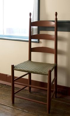 shaker ladder back chair round pads 77 best images in 2019 benches chairs loom patterns period 1776 1850 plain and simple