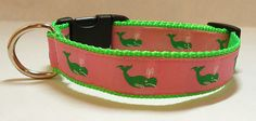 Personalized Dog Collar Monogrammed Dog by TheMonogrammedMutt, $23.00