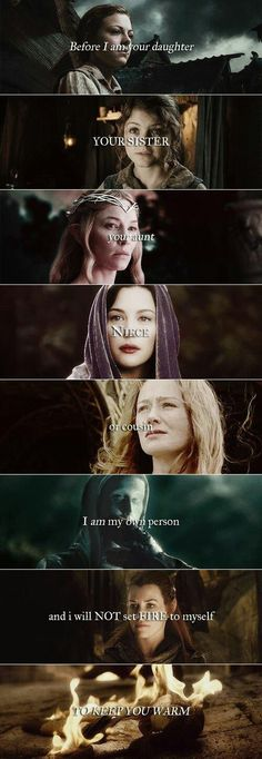 Women of Tolkien #lotr #hobbit
