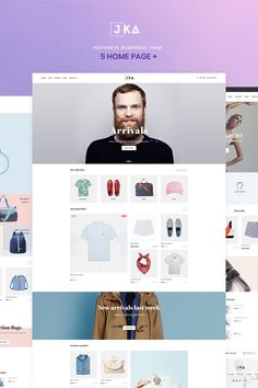 Jka Fashion WooCommerce Theme Big Screenshot