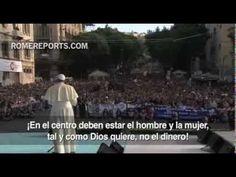 """http://www.romereports.com/palio/el-papa-en-cerdena-cuando-no-hay-trabajo-no-hay-dignidad-spanish-11089.html#.UkFNNIZ7JNo El Papa en Cerdeña: """"¡Cuando no hay trabajo no hay dignidad!"""""""