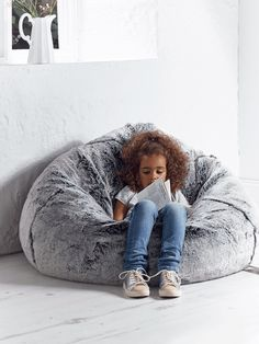 If ever I had this much money to spend on a beanbag this would be the one! NEW Supersoft Faux Fur Beanbag - Husky - Cushions, Beanbags & Throws - Decorative Home - Indoor Living Husky, Faux Fur Bean Bag, Bean Bag Covers, Selling Furniture, Luxury Sofa, Faux Fur Throw, Sofa Throw, Soft Furnishings, Bean Bag Chair