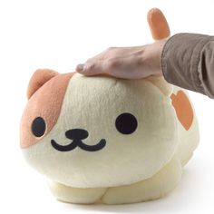Neko Atsume Huge Peaches Plush 8