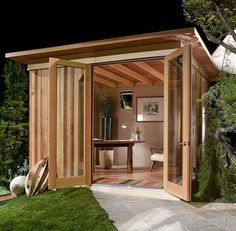 She Shed.  Shedquarters.  Shed quarters.  Reading Shed.  Craft Shed.  Bolt Hole.