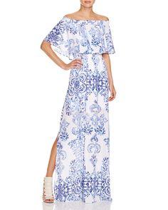 Show Me Your MuMu Hacienda Off-The-Shoulder Maxi Dress