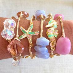 pastel bracelets