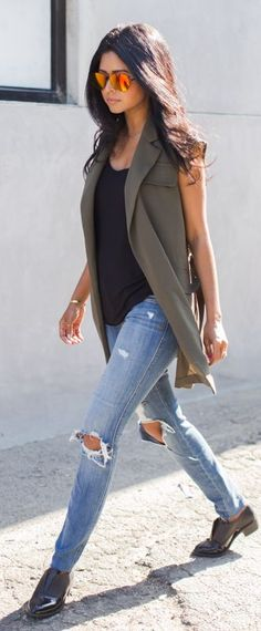Structured + distressed