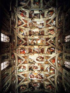 michael angelo sistine chapel - Bing Images