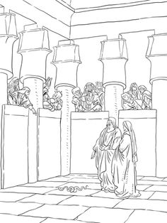 Free Horse And Chariot Coloring Page Children S Church